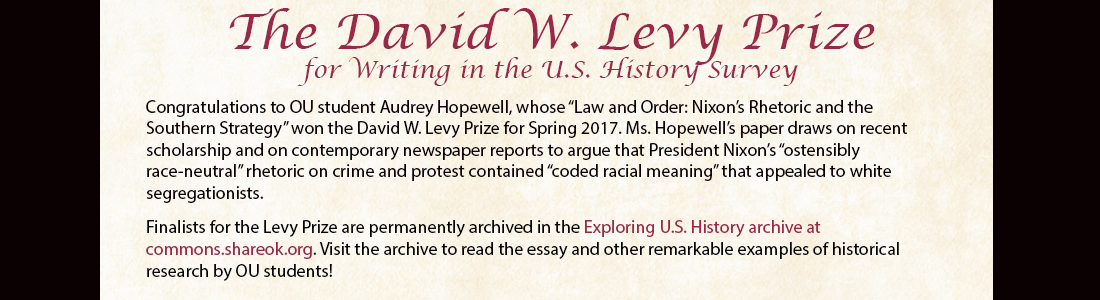 Levys historical thesis